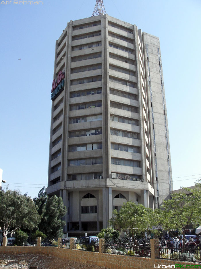 Karachi: AG Sindh Building - Completed Building Projects - .::UrbanPK