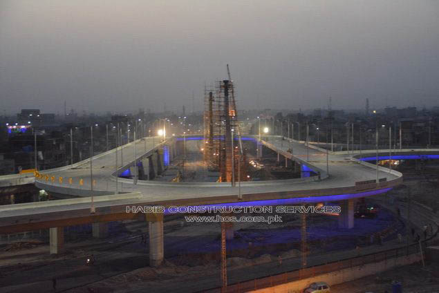 Lahore Flyover Pictures Lahore Qainchi Flyover