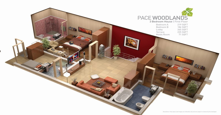 Lahore: Pace Woodland - Real Estate Developments - .::UrbanPK::.
