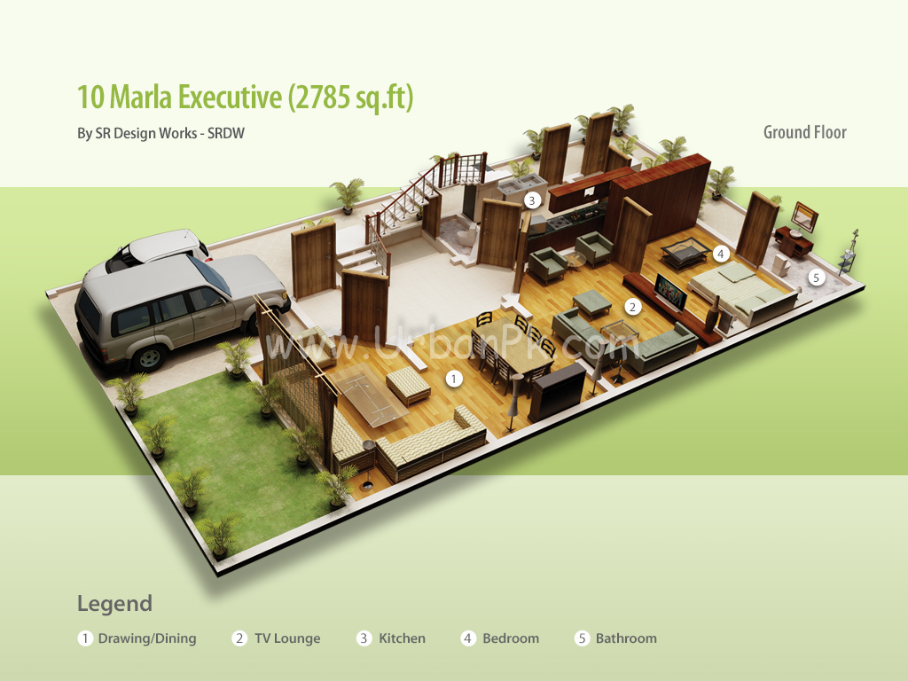 ... website 10 marla executive render 10 marla executive a model plan