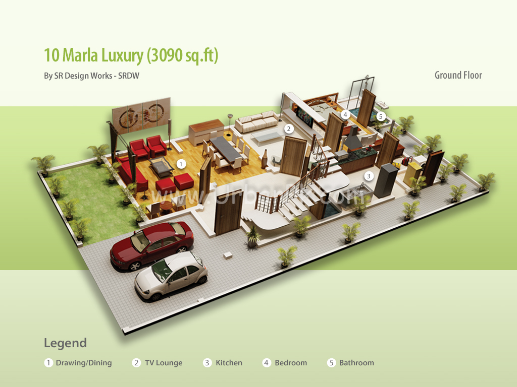 project website 10 marla luxury render 10 marla luxury a model plan