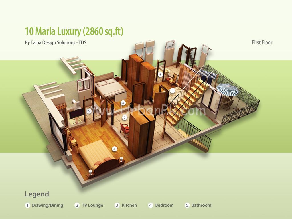 ... 10 marla luxury render 10 marla luxury a model plan 10 marla executive