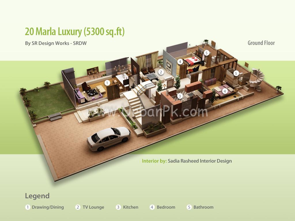 20 Marla House Design
