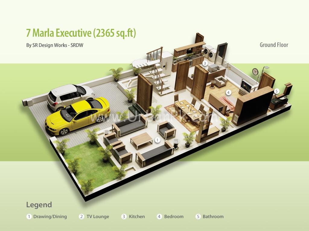 Pakistan 20 Marla House Design | Free Home Design Ideas Images