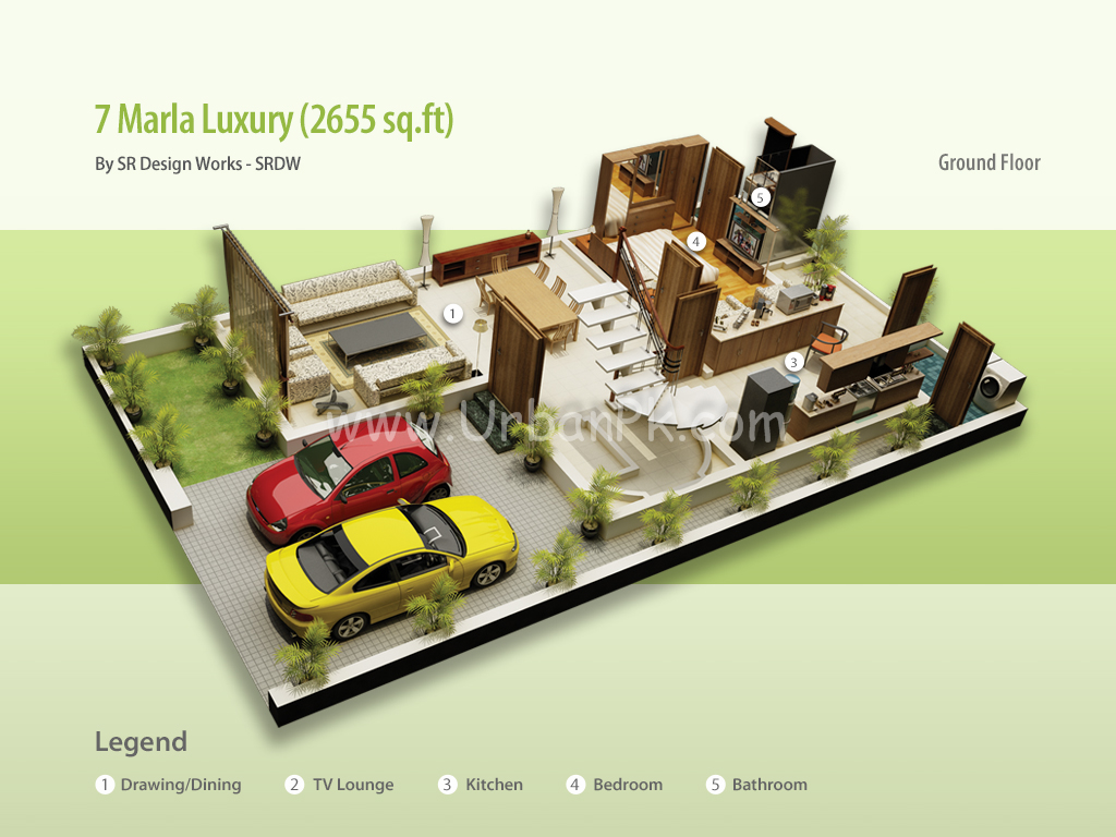 ... project website 7 marla luxury render 7 marla luxury a model plan